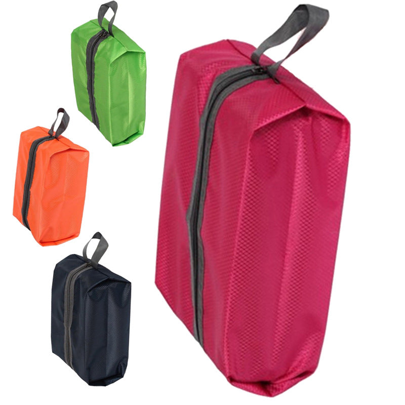 waterproof zipper shoe bag