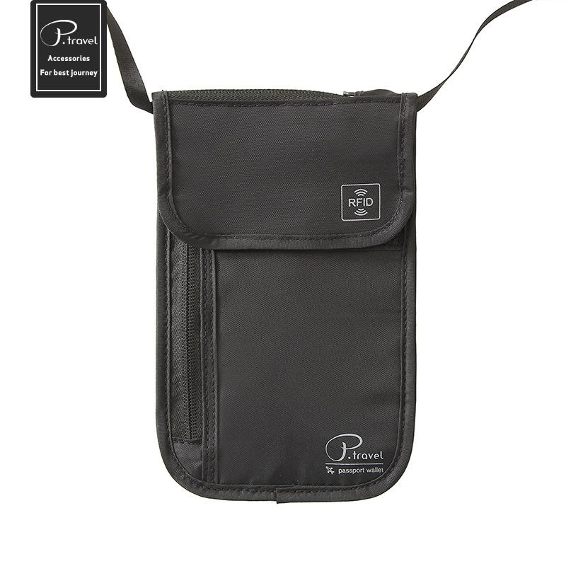 Customised Anti-Theft Storage Hanging Neck Bag ,  corporate gifts