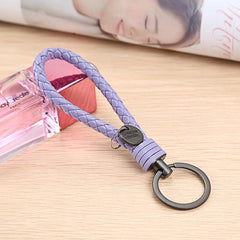 Customised Leather Rope Key Chain ,  corporate gifts