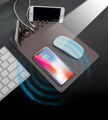 Customised reless Charging Storage Mouse Pad ,  corporate gifts