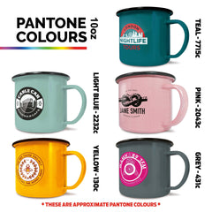 Customised High Quality Enamel Mugs ,  corporate gifts