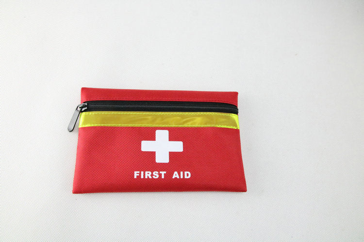 Portable home first aid kit