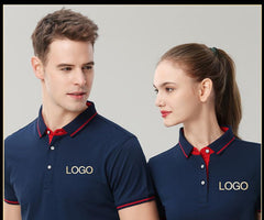 Customised Embroidery Logo Short-Sleeved T-Shirt ,  corporate gifts