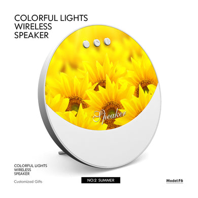 New Colorful Lights Bluetooth Speakers & Fans Christmas gifts