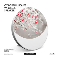 Customised New Colorful Lights Bluetooth Speakers & Fans Christmas gifts ,  corporate gifts