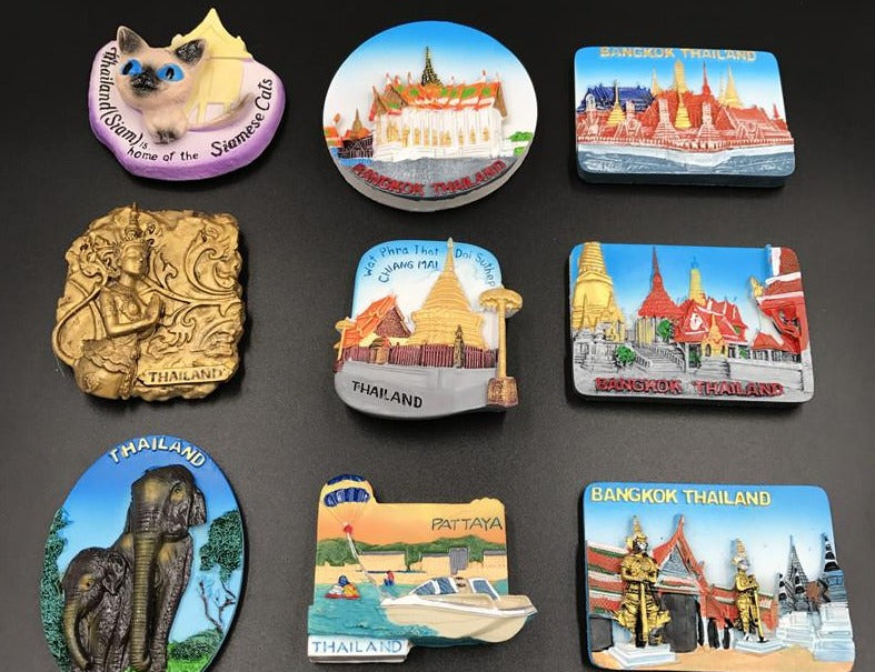 Buddha Temple Grand Palace magnetic paste
