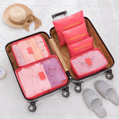 Customised Large Luggage Storage Bag 6-Piece Set ,  corporate gifts