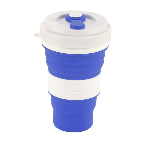 Customised Folding Silicone Cup Portable ,  corporate gifts