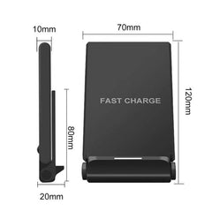 Customised Folding mobile phone holder with wireless charger ,  corporate gifts