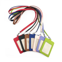 Customised PU Badges Lanyard ID Card ,  corporate gifts