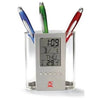 Load image into Gallery viewer, Customised Digital Clock  Plastic Pen Holder ,  corporate gifts