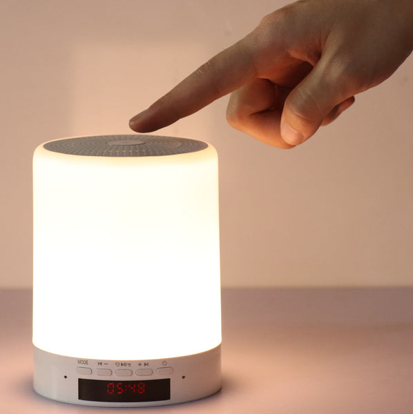 Customised Desk Lamp Smart Bluetooth Stereo Speaker ,  corporate gifts