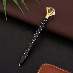 Customised Top Diamond Shape Crystal Pen ,  corporate gifts