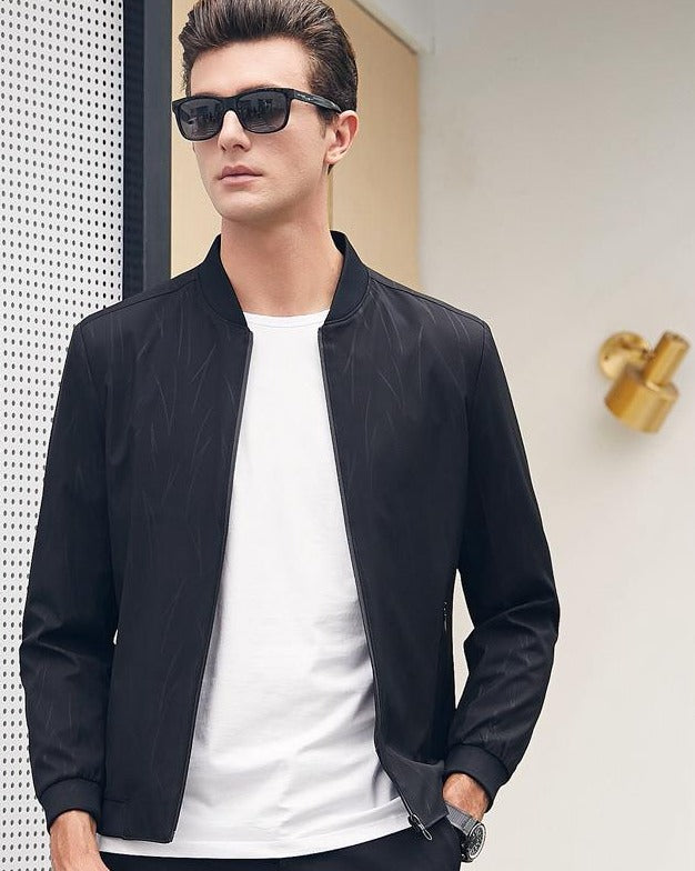 Men's slim casual jacket