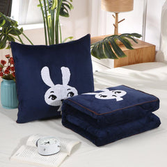 Customised Embroidery Dual-Use Multi-Function Cartoon Pillow ,  corporate gifts