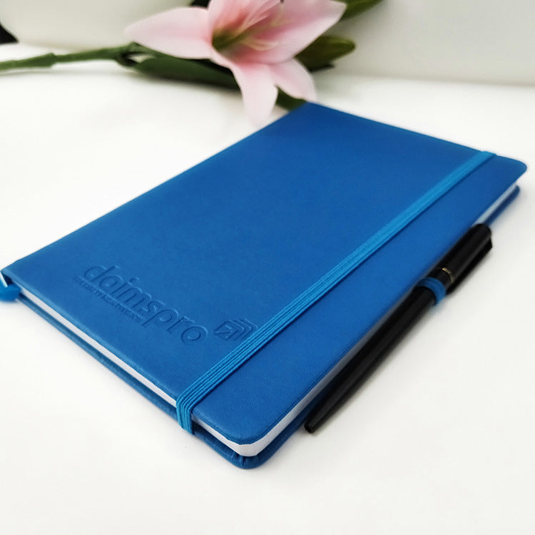 Hardcover Leather Loose Belt Notebook