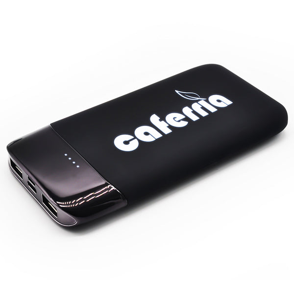 Customised Induction glow LOGO vibration mobile power Bank ,  corporate gifts