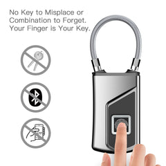 Customised Safe and Convenient Mini Fingerprint Padlock ,  corporate gifts