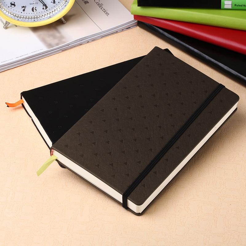Elastic belt notebook