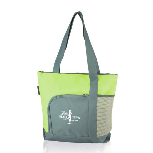 multi-color waterproof hand shopping bag