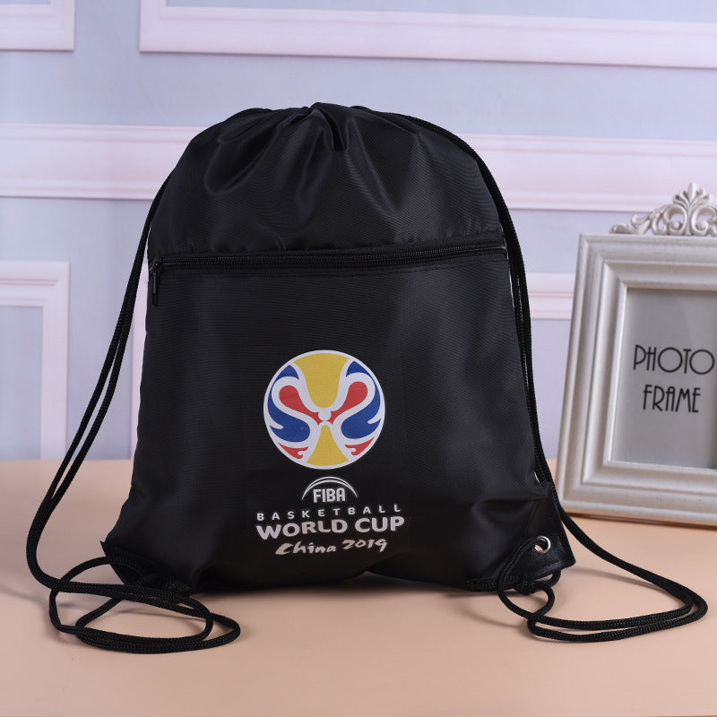 Customised Custom Polyester Cloth Student Rope Bag ,  corporate gifts