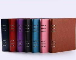 Customised A5 PU Ring Notebook ,  corporate gifts
