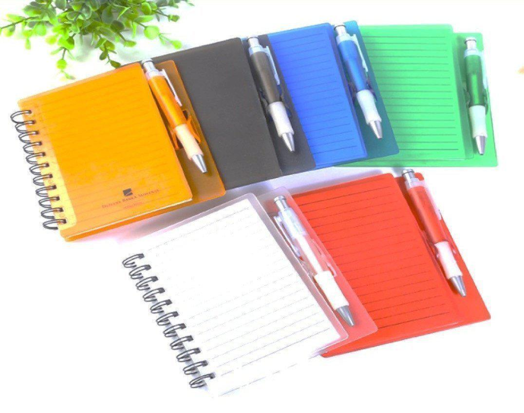 Corporate Gifts : A6 Colorful Notebook With Pen ,
