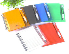 Customised A6 Colorful Notebook With Pen ,  corporate gifts