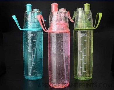 Breeze Mist Sports Bottle - Corporate Gifts - Apex Gifts and Prints.