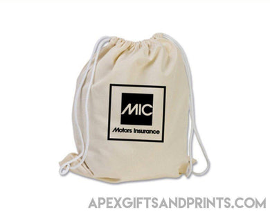 Corporate Gifts - Canvas Drawstring Bag