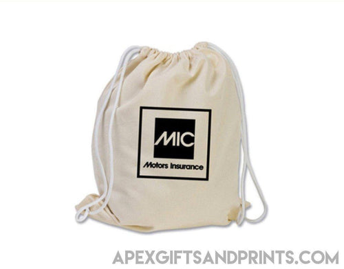 Corporate Gifts : Canvas Drawstring Bag ,