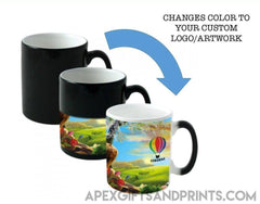 Color Changing Mug - Corporate Gifts - Apex Gifts and Prints.