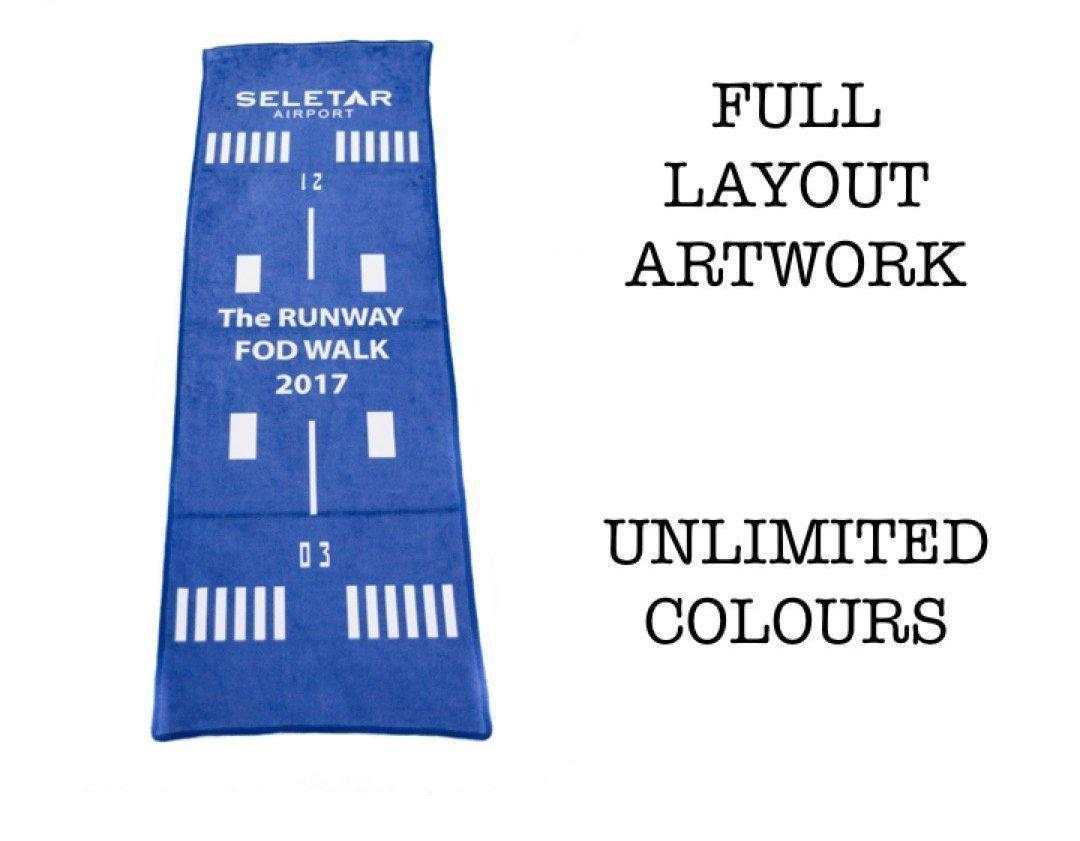 Corporate Gifts : Custom Microfibre Towel ,