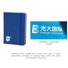Customised Custom Premium PU Leather Notebook ,  corporate gifts