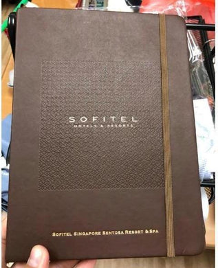 Corporate Gifts : Custom Premium PU Leather Notebook ,