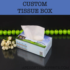Corporate Gifts - Custom Tissue Box
