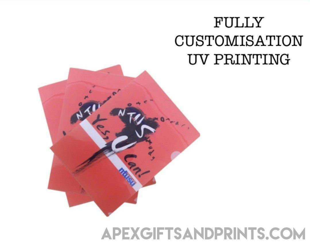 Customised A4 L Shape File - Corporate Gifts - Apex Gifts and Prints.
