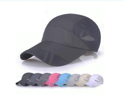 Customised DRI FIT STRIPE CAPS ,  corporate gifts