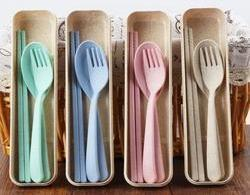 Corporate Gifts : Eco Cutlery Set ,