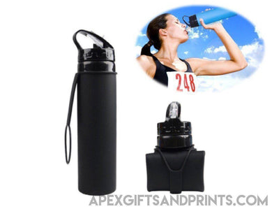 Foldable Water Bottle - Corporate Gifts - Apex Gifts and Prints.