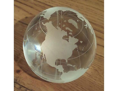 Corporate Gifts - Full Globe Paper Weight