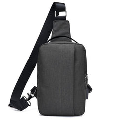 Corporate Gifts : Men Crossbody Sling Bags with External USB Charge , bags