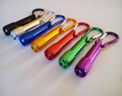 Customised Mini Carabiner Torch Light ,  corporate gifts