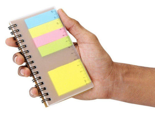 Corporate Gifts - Post It Pad & Ruler Set