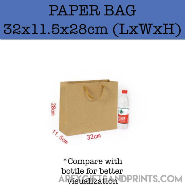 Customised Premium Kraft Paper Bag (260g) ,  corporate gifts
