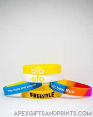 Customised Silicone Wristband ,  corporate gifts