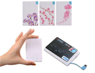 Corporate Gifts - Slim Card Power Bank (2000mAh)