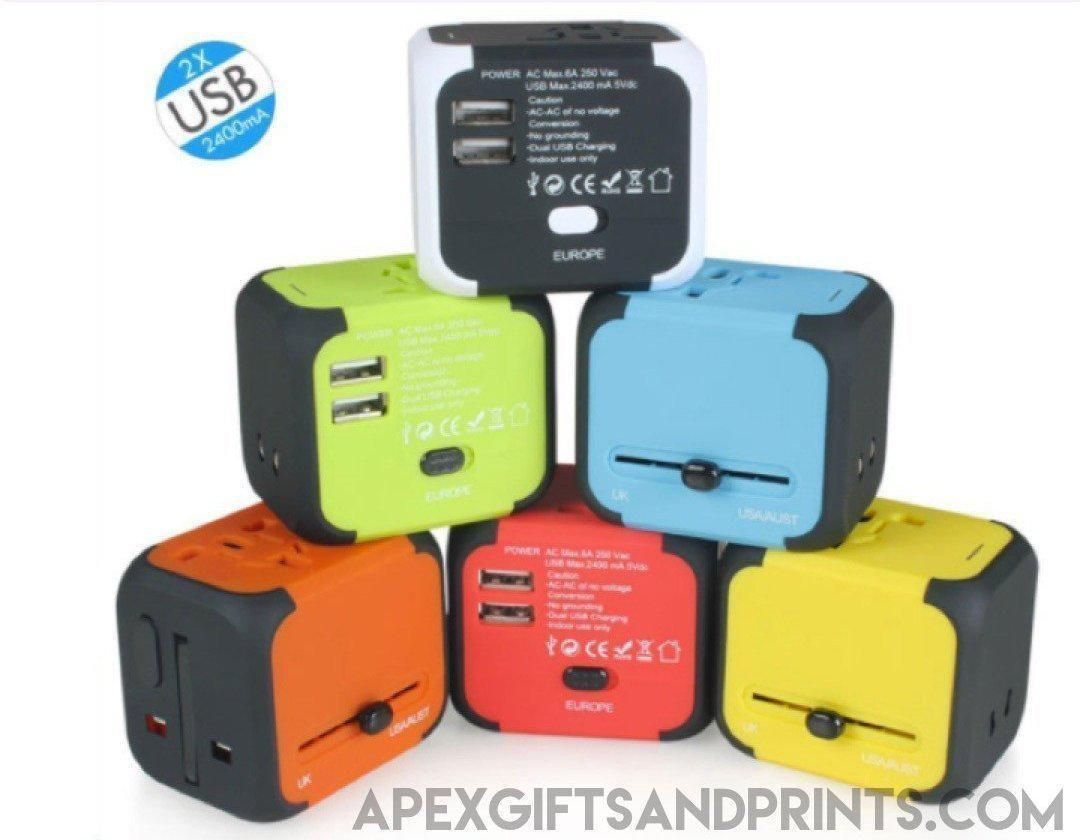 Customised Cube OTravel Adapter ,  corporate gifts