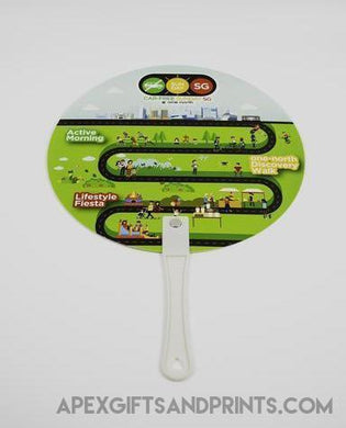Corporate Gifts - Custom Plastic Hand Fan