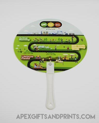 Customised Custom Plastic Hand Fan ,  corporate gifts